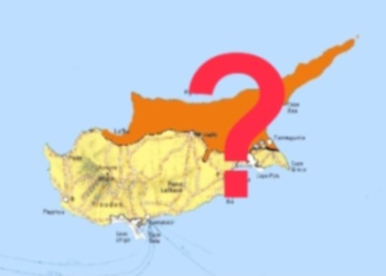 Cyprus Map divided image