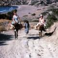 Cyprus,(Golden Beach), Joan on left