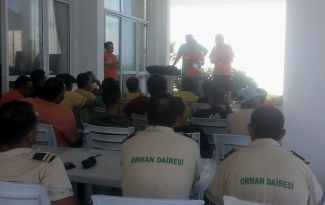 Orman Dairesi with the CESV trainers
