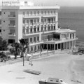 5 Constancia Hotel where Paul Newman stayed while filming Exodus. Dad's photo with my Mum and us on the swing…