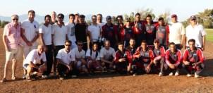 TRNC and Mustangs teams