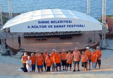 CESV in Girne Amphitheater