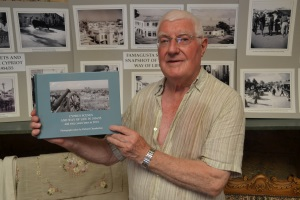 Richard Chamberlain shows his new book, soon to be available