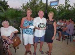 l-r Sue Tilt, Billy Hodgson, Carole King