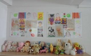 orphanage art work panels