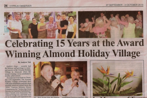 Award Winning Almond Holiday Village
