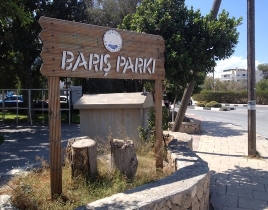 Bariş Park, Kyrenia pictures - Courtesy of Pauline Wolters of EFCF