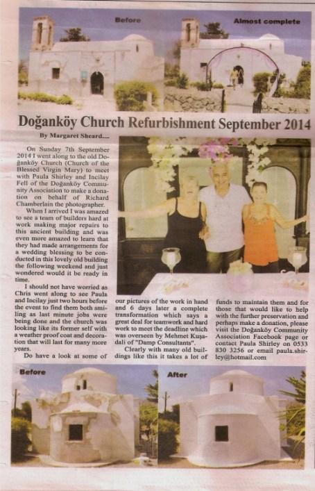 Dogankoy Church Refurbishment