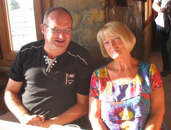 Paul and Anita Harman