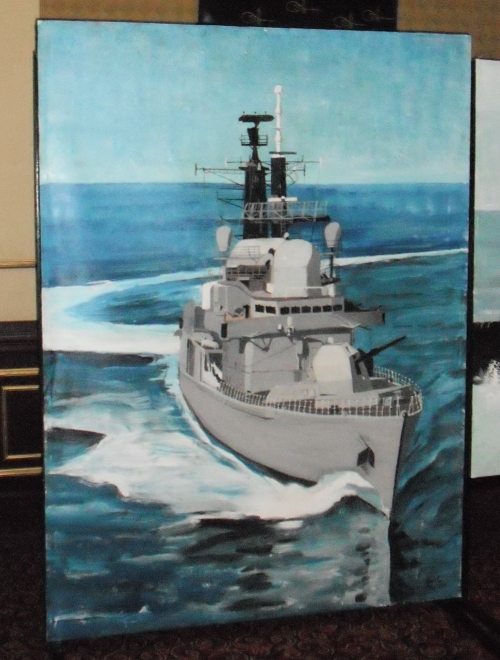 The Royal Navy type 42 destroyer