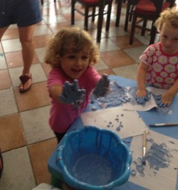 children love getting their hands dirty