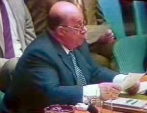 Rauf Denktas at the UN