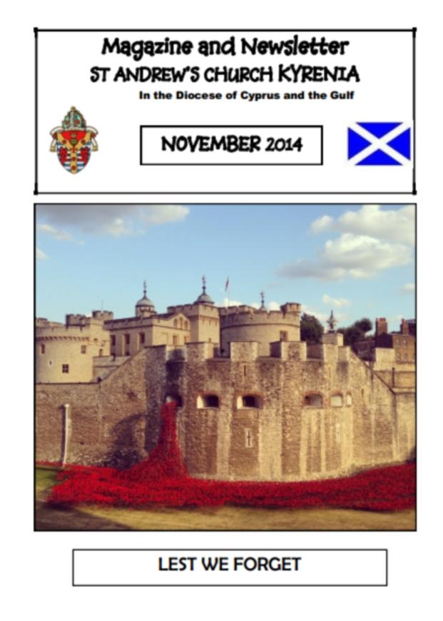 St Andrews November Magazine