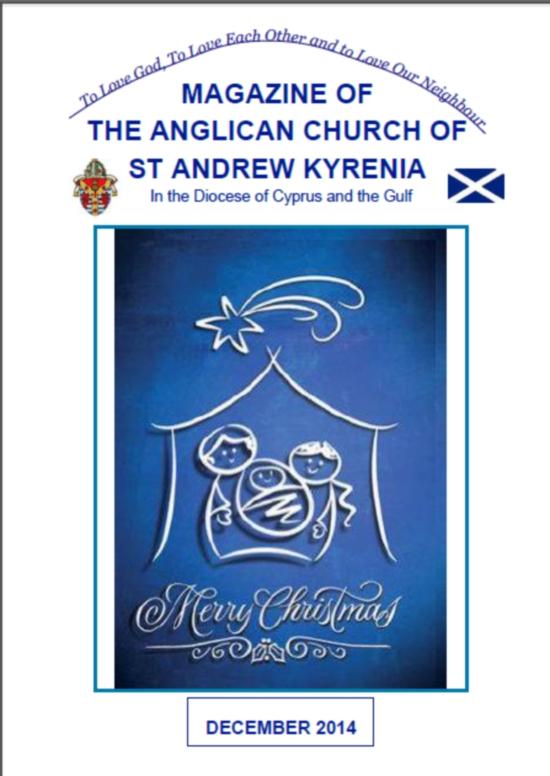 St Andrews December magazine
