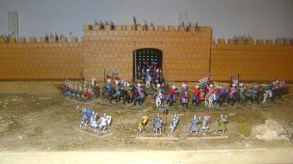 Ottoman cavalry during the Crusader wars