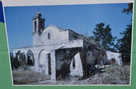Agios Afksentios Church Komi Kebir before refurbishment
