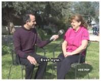 Engin speaking with Aysel