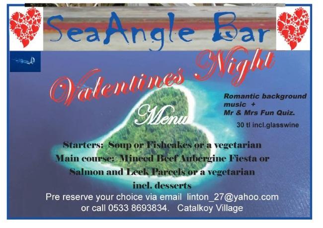 SeAngle Bar - Valentine's Night Poster