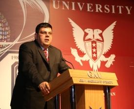 TRNC Minister of Education - Özdemir Berova sml
