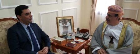 FM Ozdil Nami and Ahmed Suilamani Al –Abbas