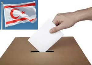 Voting and TRNC flag 300