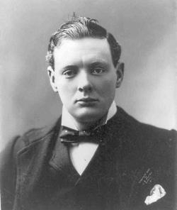 Winston Churchill 1901