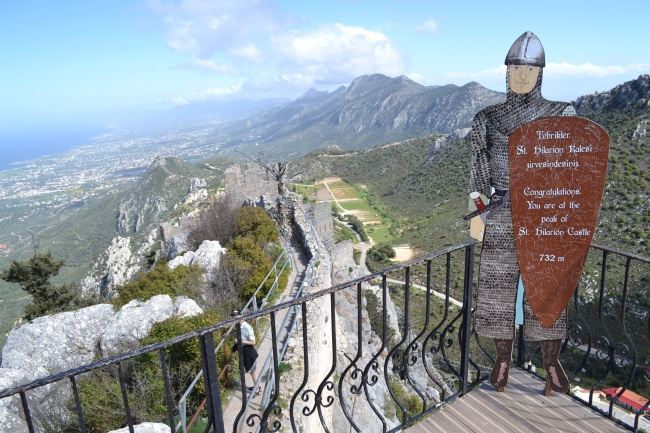 Congratulations to those people who have joined me on top of the world in North Cyprus
