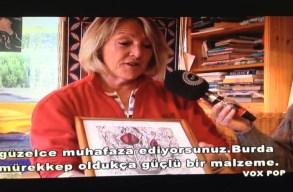 Bidi Mckintyre talking about her love of art