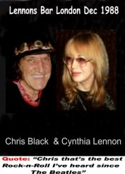 Chris and Cynthia