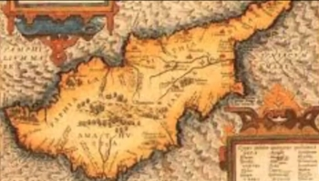 Ancient Cyprus Map