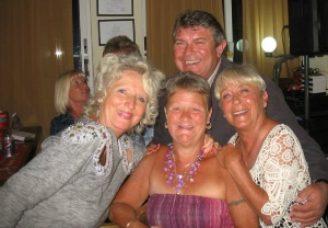 Judy Vizard, Geoff Carter-Brown, Gill Moon, Lesley Roper