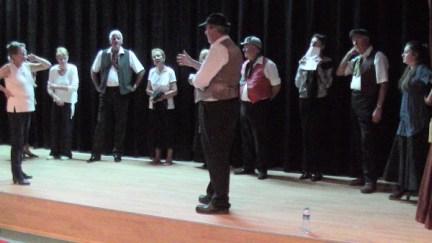 KADS Rehearsal - Talking through the scene again