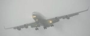 Landing in fog
