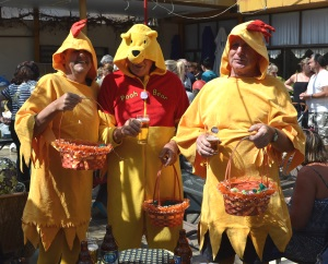 The Easter Chickens