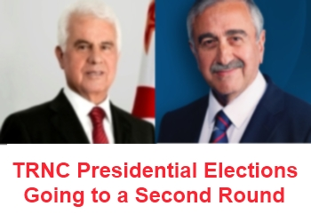 TRNC Presidential Elections going to a second round
