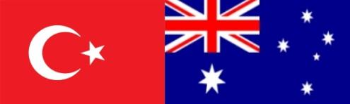 Turkish and Australian flag 500