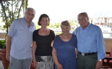 Chris Elliott, Ursula Heinze, Margaret Sheard, Christian Heinze