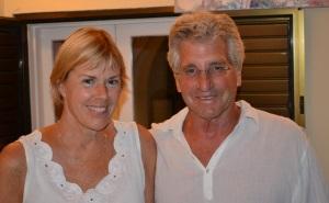 Liz Chapin and Joel Stratte-McClure