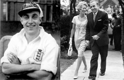 Billy Wright and Joy Beverley