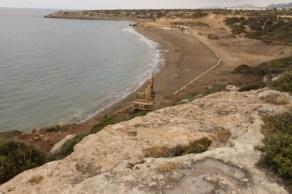 Looking east along the beach. Esentepe Beach Project Update. 29 June 2015