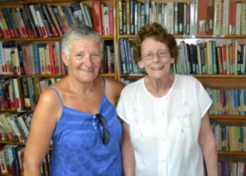 Sheila Mawhinney and Brenda Green