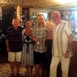 l-r Roy Haskett, Carmel Keavney, Paul Harman, Mary Watson, Brian Hills