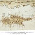 """Map drawn by """"Alonzo de Santa Cruz, 1545"""""""