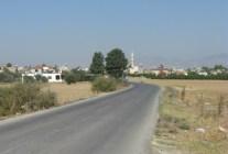 Melusha's main road into the village