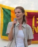 Ms Gosia Chrysanthou from the Nicosia Caritas