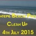 Esentepe Beach cleaning 3