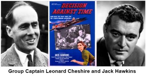 Leonard Cheshire and Jack hawkins