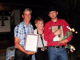 Steve and Denise Bisson with Devon (Simon Burridge )