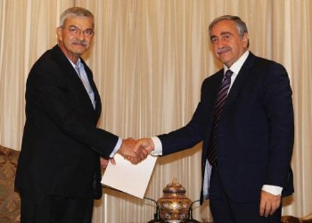 President Akinci and Ömer Kalyoncu