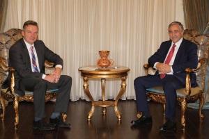President Akinci meets Dirk Reinermann